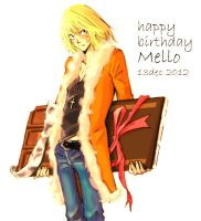 Happy Birthday Mello !!! by kurutako