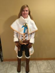 BotW Zelda Winter Outfit Cosplay 1 by Princess-Selia