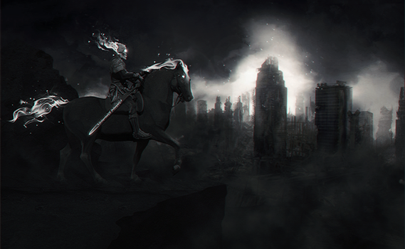 Death, the last horseman by Sebiss