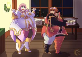 A Hearty Feast in Halure by CiiClaire