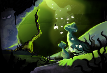 The Swamp by Xenophilius-Lovegood