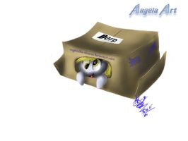 Derpy In The Box by AngelStudio-Alicorns