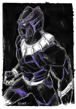 Weekly Sketches: Black Panther by Kmadden2004