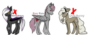 More pony adopts {CLOSED} by Bard-Adopts