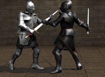 Longsword Fight by LHS3020b