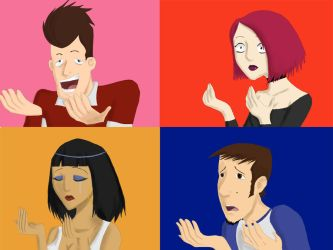 if Clone High was Anime... by inicka