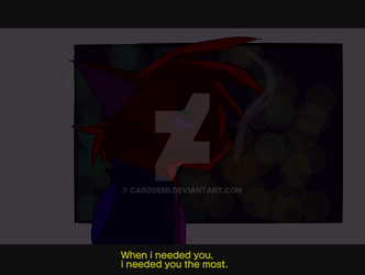When I Needed You [wip] by Carodemi