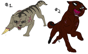 New Ginga OCs by DragonHeartLuver