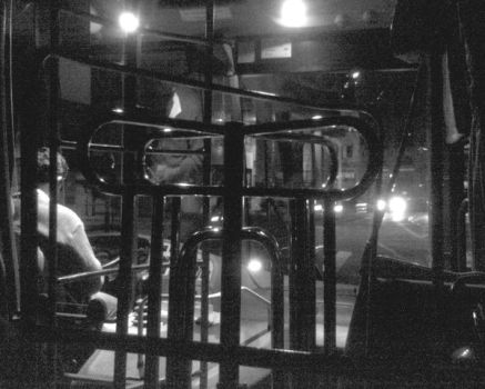 bus at night 1 by ludwer