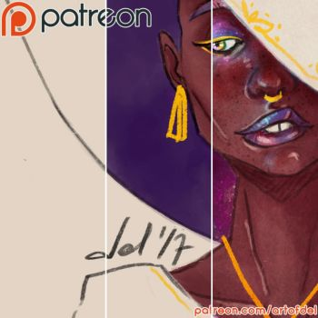 Patreon Update - Witch by delusionmaker
