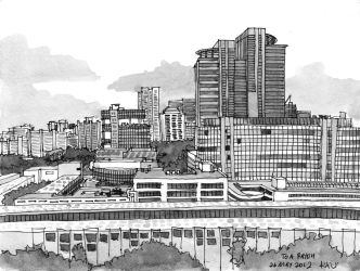 Toa Payoh from 12th floor block 79 by parka
