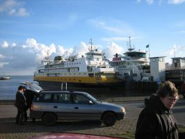 Ferry from Texel to Den Helder by frenzie