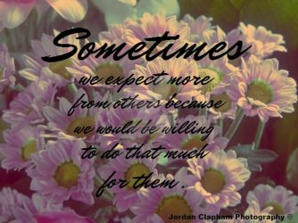 Sometimes... by Clapham1994