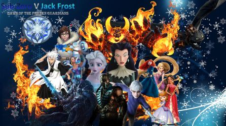 Sub-Zero V Jack Frost Dawn of the Frozen Guardians by Aikijoco