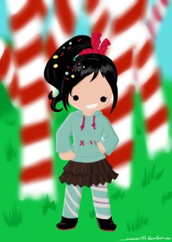 Vanellope by sammers94