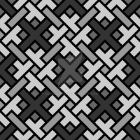 Geometric Pattern: Weave: Monochrome by redwolfoz