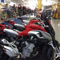 MV Agusta Production Line....Thriving by PzlWksMedia