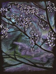 Lilacs by astomious
