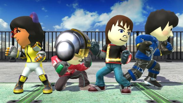 Mii Deviant Fighters #18 by TomodachiSmash
