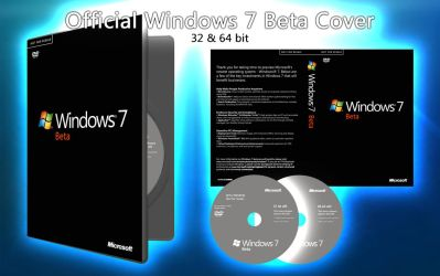 Official Windows 7 Beta Cover by janek2012