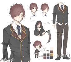 Shinigami Student Adopt | Auction [CLOSED] by Jasmiass