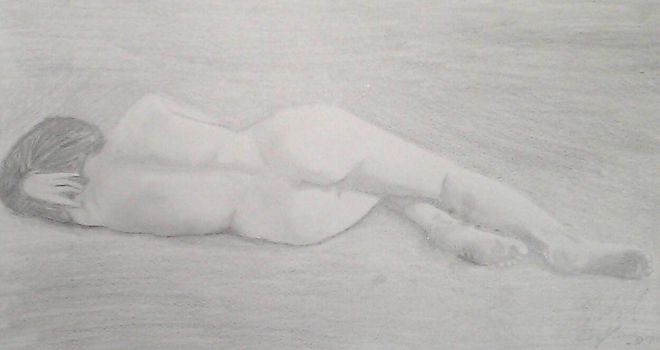 Nude Figure Study by mgonzales041090