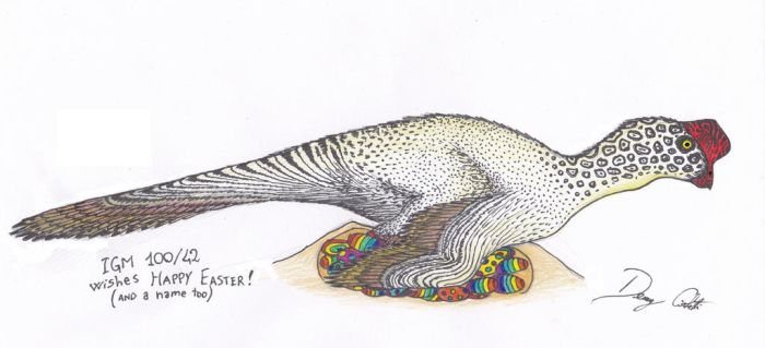 The Easter Oviraptorid by Dennonyx
