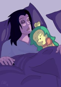 Can I Sleep In Your Bed Tonight? by kibou-rainbow