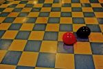 Floor and Balloons Stock by JustinByerline-Stock