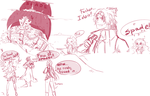 One Piece OC. Allen and his team. WIP. by HatoChan19