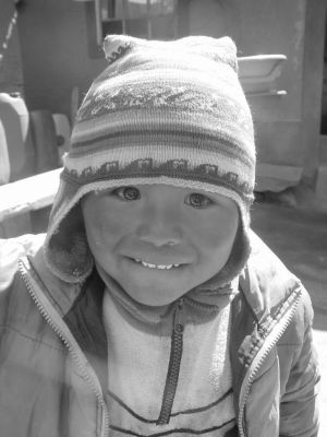 kid in Taquile Island, Peru by beloutte