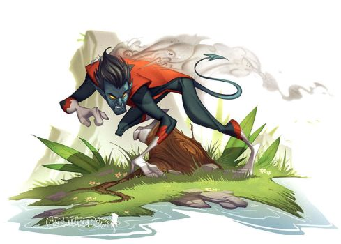 Nightcrawler by CreatureBox