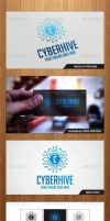 Cyber Hive Logo Template - Graphicriver by Changyik