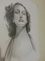 Joan Crawford WIP by LadyPakter4life