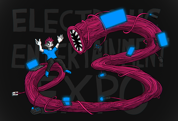 the E3 boreworm by luckettx