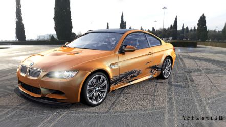 bmw m3 gts by Artsoni3D