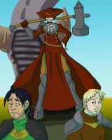 Dragon Age Heroes of Comics Past by modesty