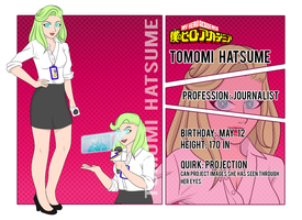 BnHA OC_Tomomi Hatsume by MevrouwRoze