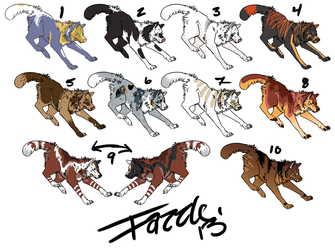 DOLLA ADOPTS! [CLOSED] by fazzle