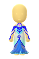 Ice Princess Dress by Rosemoji