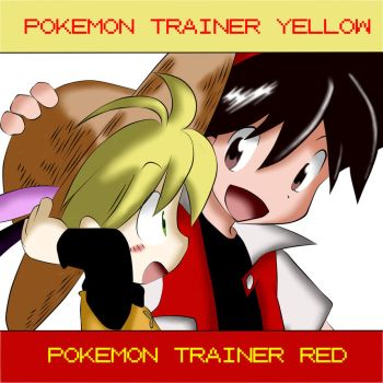 Pokemon Adventures Trainer Red x Yellow by Raiho80