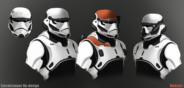 Storm Trooper redesign by mohzart