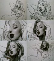 jessica rabbit sketch 2 by aramismarron