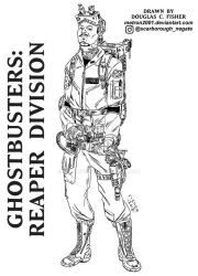 Ghostbusters: Reaper Division by metron2001