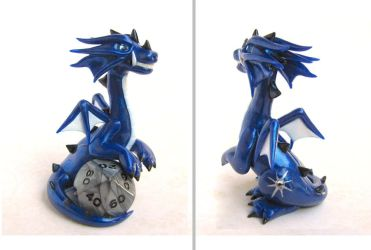 Polaris the Dice Dragon by DragonsAndBeasties