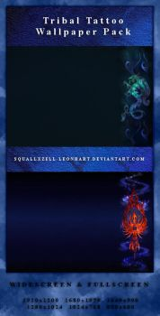 Tribal Tattoo Wallpaper Pack by SquallxZell-Leonhart