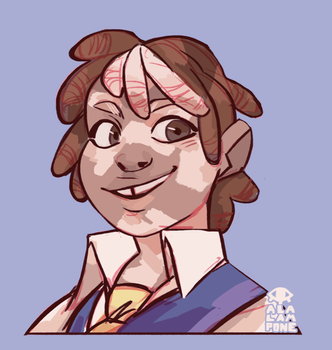 Art Fight: Marty by alalampone