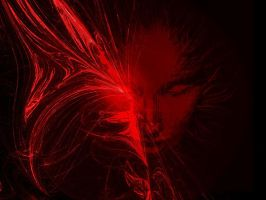 SHODAN Red Burst by vousdew
