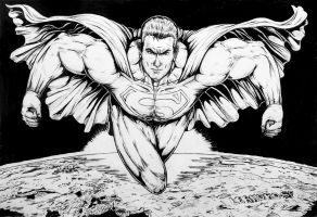 Superman the sky is no limit by leandro-sf