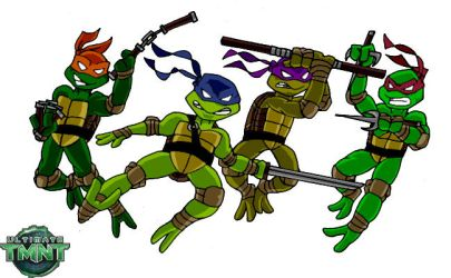 Ultimate TMNT- We're not wearing costumes by Dreven